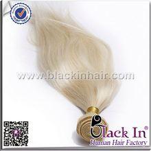 Human hair extensions 613 Blonde Hair Weave bang hair piece