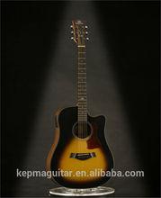 Guitar Acoustic Guitar Dreadnought Acoustic Guitar D2CE Sunburst Satin Fishman Pickup