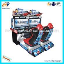 Video game arcade racing game machine simulator driving type HD Outrun 2012