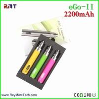 2015 hottest China wholesale e cigarette 2200mah GS Ego 2 battery