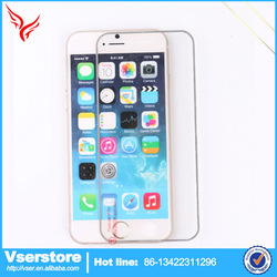 China manufacture 0.3mm 2.5D Tempered Glass Screen Protector For iphone 6 screen protector with design