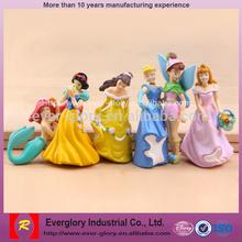 OEM Plastic Fairy Figurines, Custom Plastic Lovely Toy, Princess Toy Figurines