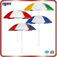 2015 new design beach umbrella air-vent