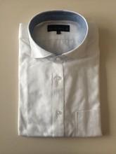 Men 100%cotton dobby French collar classic shirt