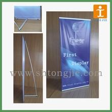 Light weight L stand banner,Custom L banner