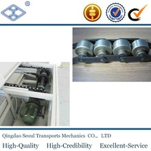 BS25-C212A standard pitch 38.1 BS free flow double plus chain manufacturer