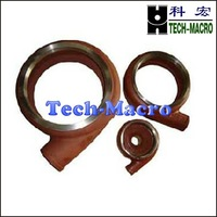 volute liner for all kind of centrifugal slurry pump spare parts