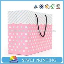 2015 custom paper single creative Eco-Friendly indonesia paper bag
