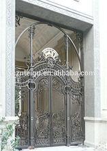 OEM European archaistic garden luxury copper gate