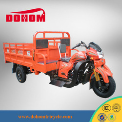 250cc water cooling gasoline China hot sale transportation tricycle
