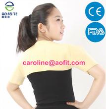 high elastic magnetic double shoulder back support brace belt (AFT-H002)