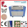 Perfect Laser- 80W 100W 120W PEDK-13090 / 160100 roll fabric laser cutting machine