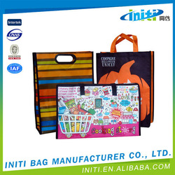Made in China low price hot sale folding supermarket shopping bag