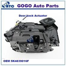 GOGO Door Lock Actuator FOR skoda rapia , Golf 6, jetta 5c , polo,skoda yeti OEM 5K4839016F 5K4 839 016 F