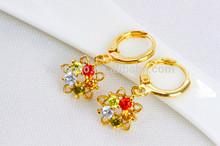 18 karat gold earring, 2015 gold earring models, china earring