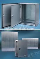 TIBOX Custom Made Hinged Stainless Steel Metal Electrical Enclosures
