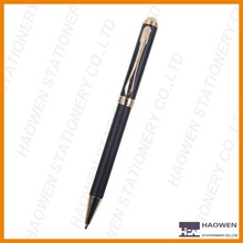 Slim metal ball point pen