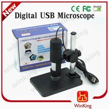 2015 multi- función 2.0mp 600x 8 led usb microscopio digital zoom 600x lupa endoscopio cámara con soporte de elevación