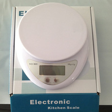 Household 5000g/1g 5kg Electronic kitchen scale Food Diet Digital Scale scales balance weight LED