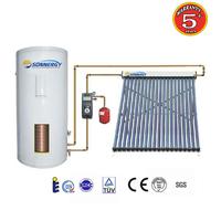 The solar system Heat pump heat pipe solar water heater split system