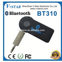 Bluetooth Handfrees Car Kit for 3.5mm Stereo Output, Adapter for Aux Car