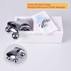 Portable Mini 4D Shape Solar Energy Facial/Body Massager