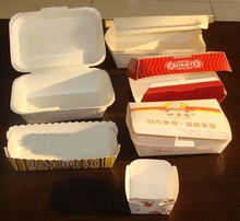 Cardboard Hot dog Box, Paper Lunch Box for Picnic, Fast Food Paper Luch Box