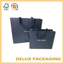 Black Custom Vera Pelle Women Kraft Paper Cloth Shoe Bags