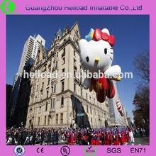 pvc inflatable hello kitty balloons/cartoon balloons for sell