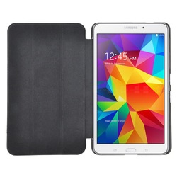 foldable stand case for samsung tab 4 8.0 pu leather case