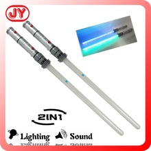 2015 most popular flashing space toy sword 2 in 1 with EN71