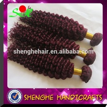 Wholesale high quality virgin indian deep curly hair