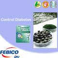 Diabetes suplemento dietético espirulina cromo activo suplemento de alimentos para bebés