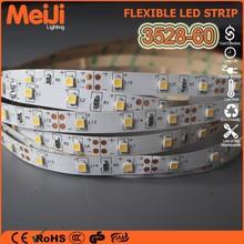 Whosale low price 60leds/m flexible 3528 led strip
