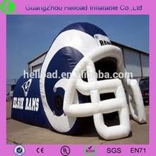 inflatable motorbike helmet/plastic helmet