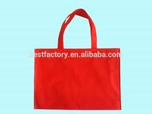 popular branded reusable silk screen non woven folding bag