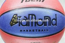 2014 hot sale 7# PU basketball(colored diamond)