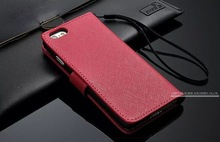 """Retro Book Style PU Leather Cell Phone Case For iPhone 6 4.7"""" inch Flip Cover With Card Slot and Photo"""
