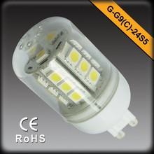 CE RoHS Factory Sale SMD G9 LED Light 3W G9 LED Light Bulb Warm White