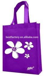 pratical and fair price logo imprint non woven laminated bag