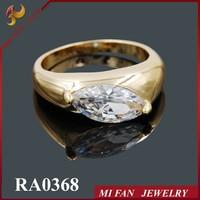 Jewelry fashion,Cheap Beautiful ring gold plated