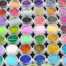 Beauties Factory 45 color Nail Art Glitter