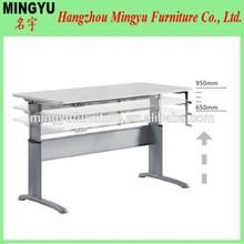 Hot Selling Ergonomic Manual Height Adjustable Office Desk