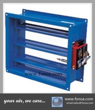 FSD whole sale best quality galvenized fire and smoke damper for HVAC system