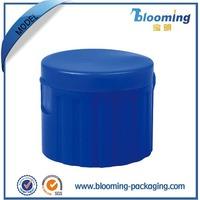 Personal care plastic jars for flip top lids for plastic bottle