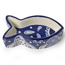 Colorful ceramic pet cat bowl for promotion gift