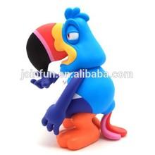 custom make plastic vinyl bird figure toys,custom make bird toys plastic vinyl