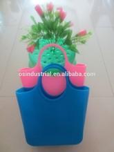 2015 Hot selling ladies fashion silicone bag