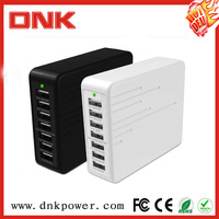 7Port Travel Wall Power Adapter Rapid Portable Multi USB Charger