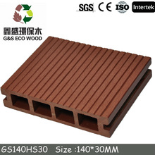 Outdoor Wood Plastic Composite Decking/WPC decking form China